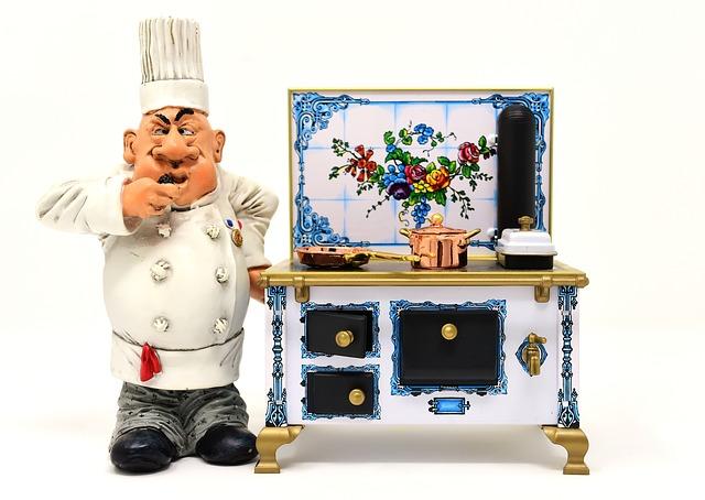 figurka kuchaře