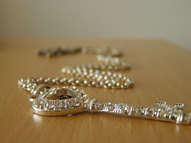 stříbrný řetízek
