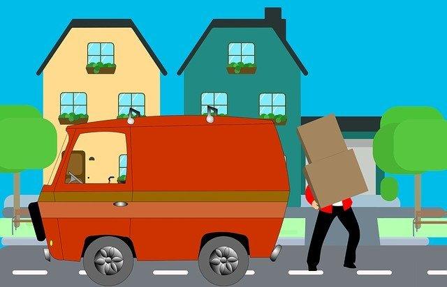 Kuriér, nákladné auto, kreslené.jpg